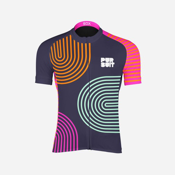 Pursuit Cycling Jersey Front